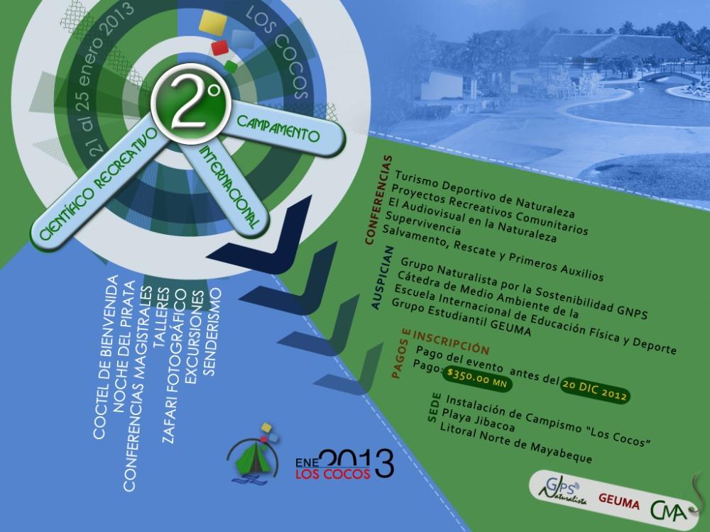 II CAMPAMENTO INTERNACIONAL CIENTÍFICO RECREATIVO, CUBA (1/3)