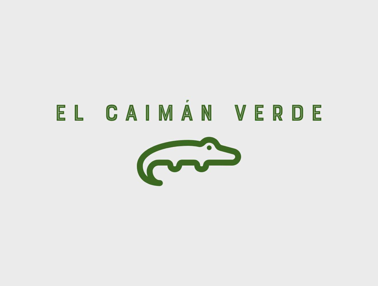 Logo with a green alligator and the name of the website